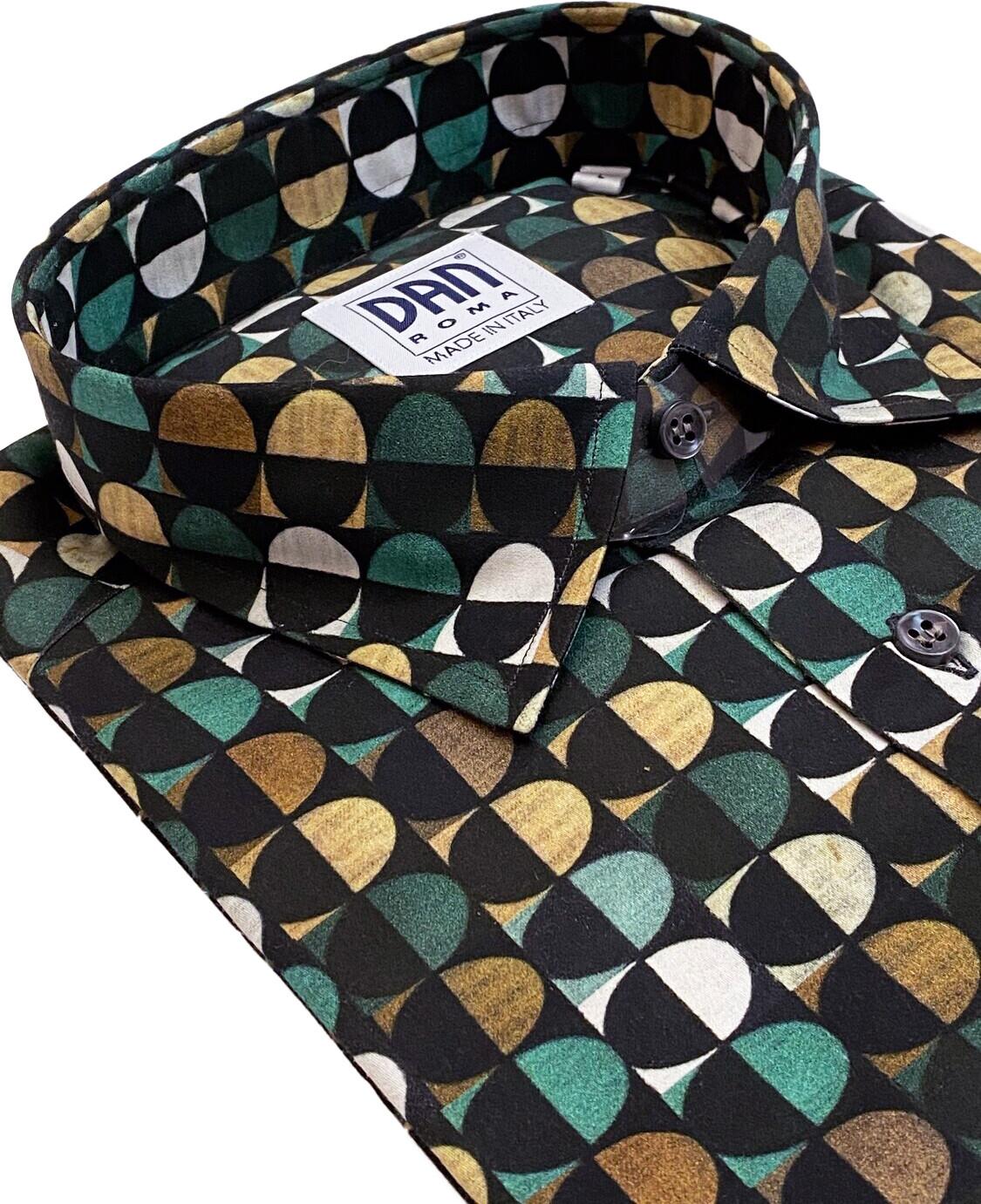 Limited Edition Shirt 100% Cotton 70' cerchietti LIM