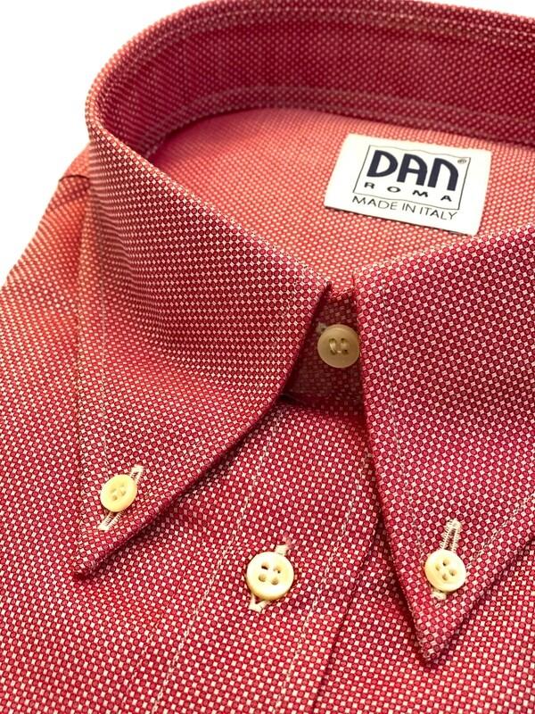 Casual 100% Cotton Micropallini rossi SPORT