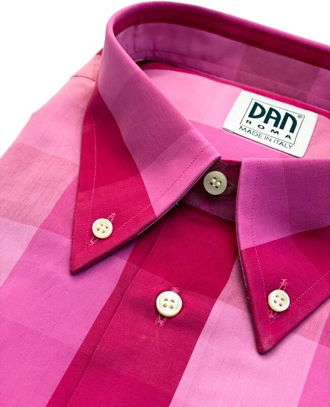 Exclusive shirt 100% Cotton DA-11-033Quadrati SPORT