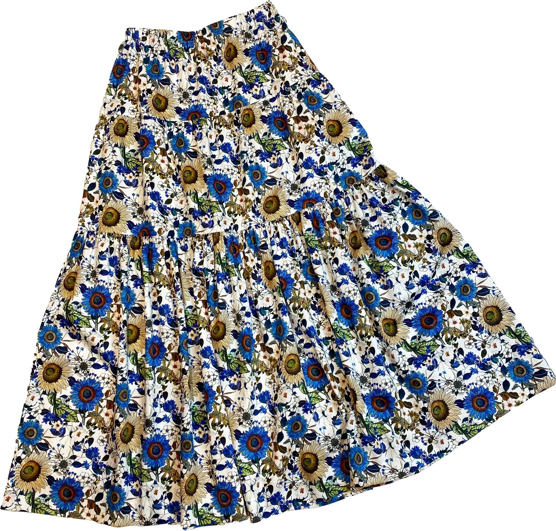 Limited Edition Skirt 100% Cotton X-ZODIAC-4819-101A GONNA