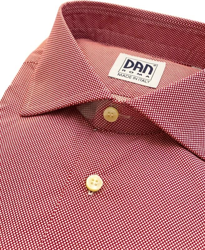 Classic 100% Cotton Micropallini rossi CLA