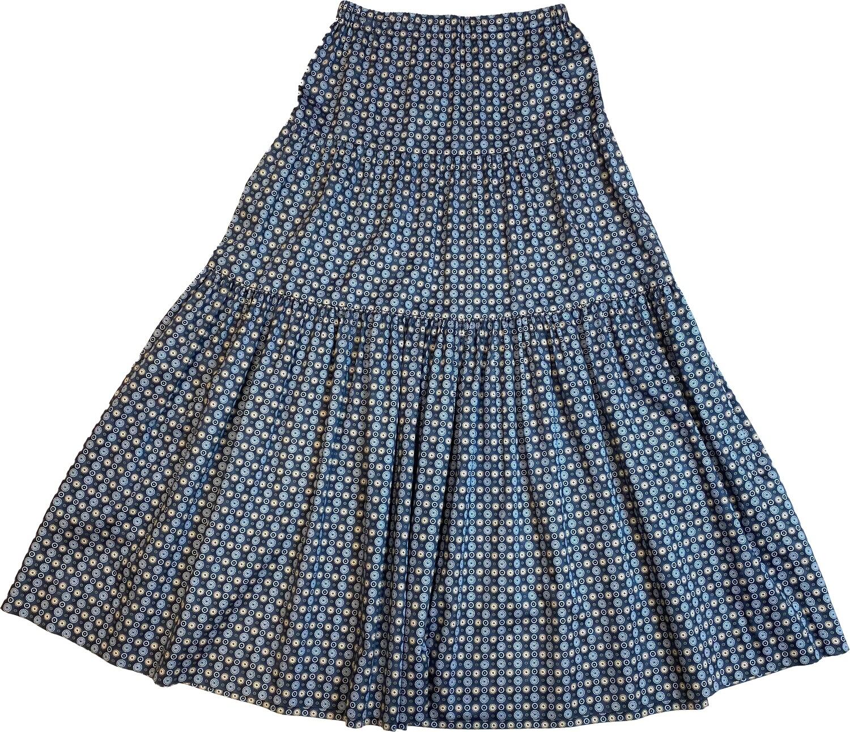 Limited Edition Skirt 100% Cotton X-ZODIAC-3510-101A GONNA