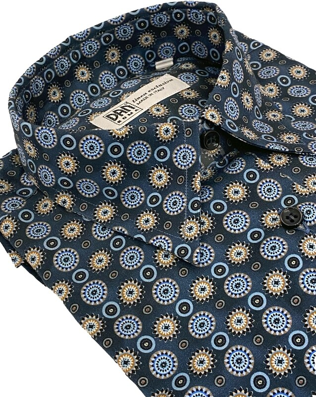 Limited Edition Shirt 100% Cotton X-ZODIAC-3510-101A DOCAM