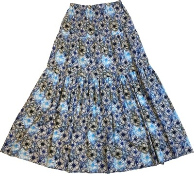 Limited Edition Skirt 100% Cotton X-FREEDOM-4118-103A GONNA