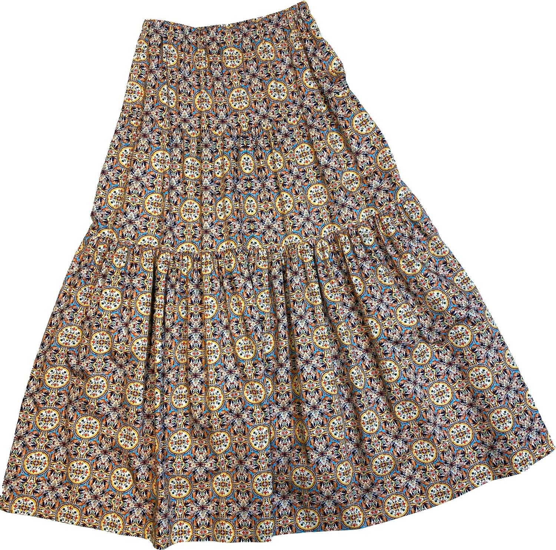 Limited Edition Skirt 100% Cotton X-ZODIAC-4835-101A GONNA