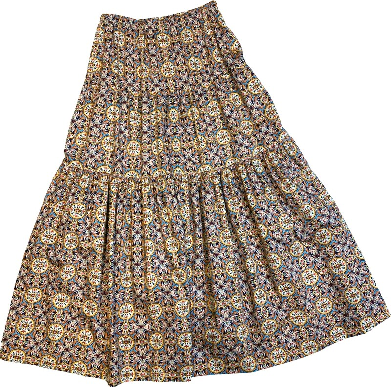 Limited Edition Skirt 100% Cotton X-ZODIAC-4835-101A GONNA