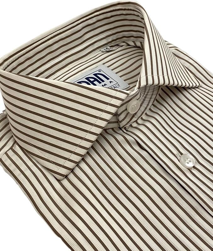 Classic 100% Cotton Riga marrone CLA