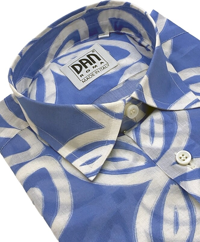 Limited Edition Shirt 100% Cotton Voile giglio cel LIM