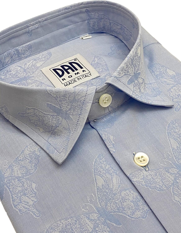 Limited Edition Shirt 100% Cotton Farfalle LIM