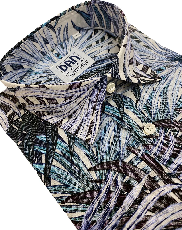 Limited Edition Shirt 100% Cotton Fogliecel LIM
