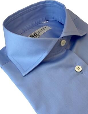 Exclusive Shirt 100% Cotton  M/L namur celeste DONNA