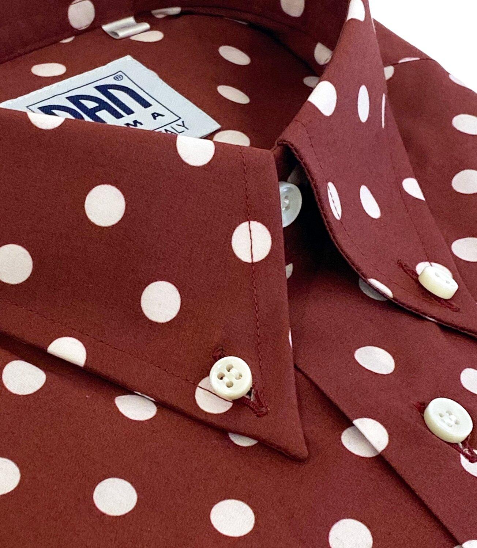 Exclusive 100% Cotton poisbordeaux SPO