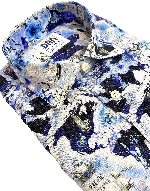 Limited Edition Shirt 100% Linen Mondo LIM