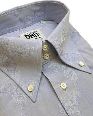 Limited Edition Shirt 100% Cotton Farfalle B/D LIM