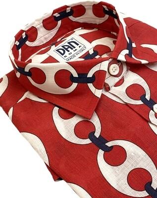 Limited Edition Shirt 100%Linen SEA14-S992-VR3 UOCAM