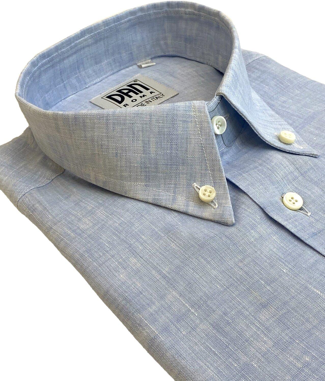 Shirt 100% Linen different plain colors