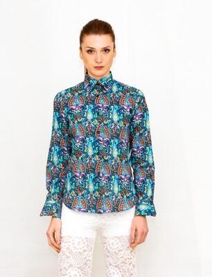 Limited Edition Shirt 100% Cotton Disegni cash Donna