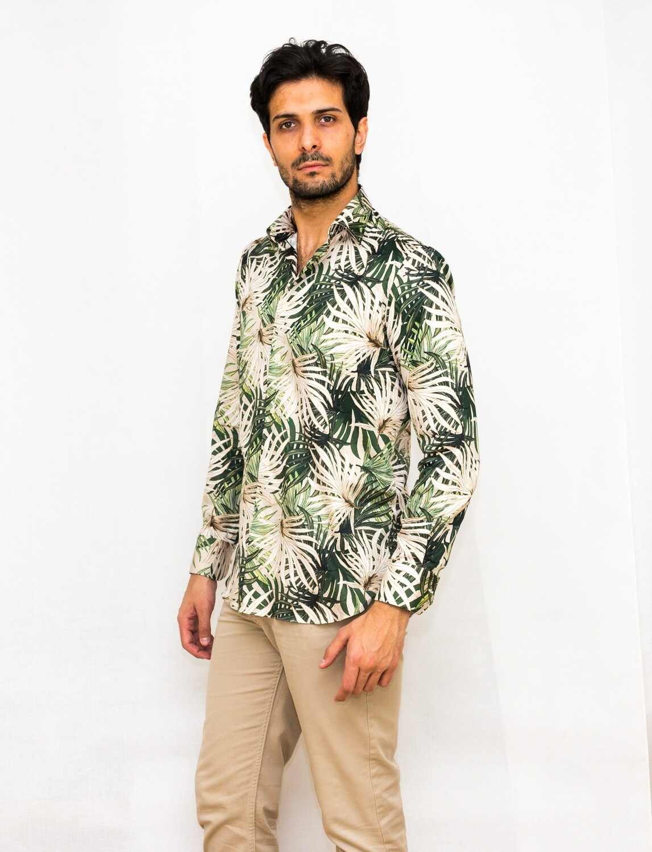 Limited Edition Shirt 100% Cotton X-SAT-STRETCH-3046-VAR104-A LIM