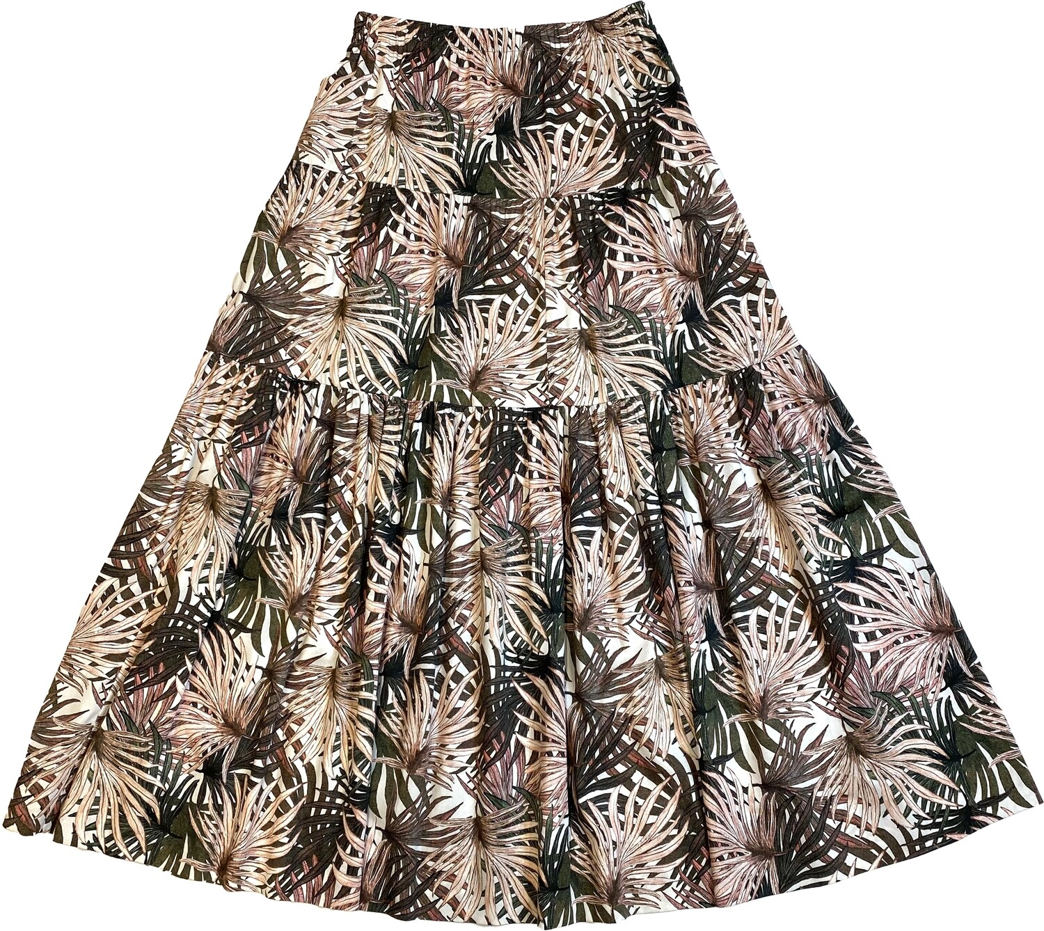 Limited Edition Skirt 100% Cotton palme GONNA
