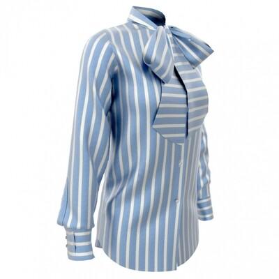 Limited Edition Shirt 100% Crepe de chine rigoni cel DONNA