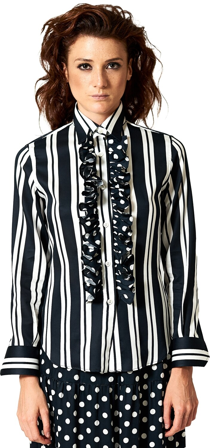 Limited Edition Shirt 100% Cotton riganerarouges DONNA