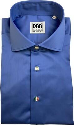 Exclusive shirt 100% Cotton namur azzurro CLA ITA