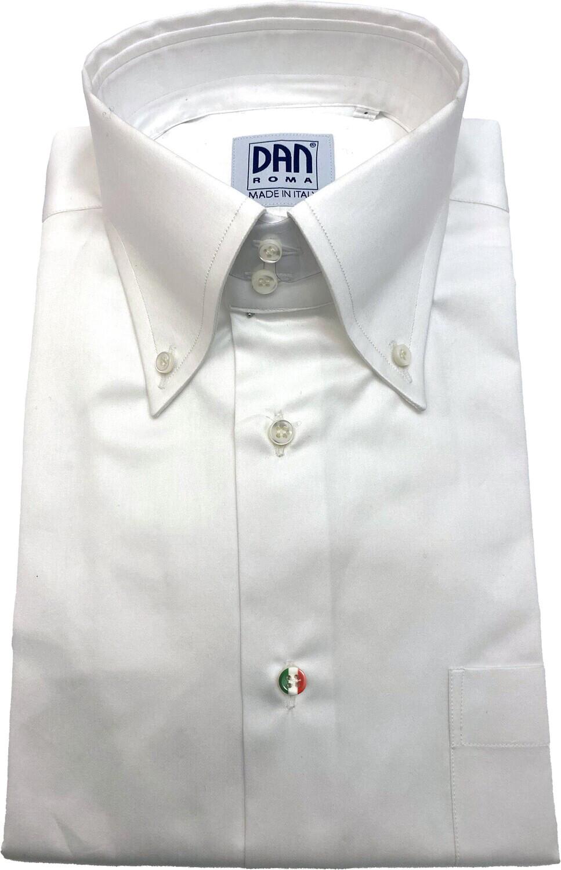 Exclusive shirt 100% Cotton Namur Bianco SPORT ITA
