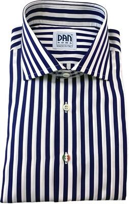 Exclusive shirt 100% Cotton EXCLUSIVE Downing Blu CLA ITA
