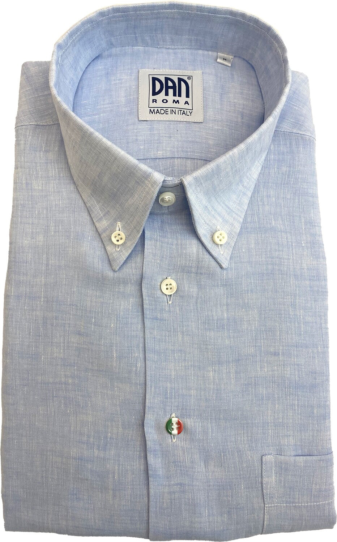 Shirt 100% Linen different plain colors ITA