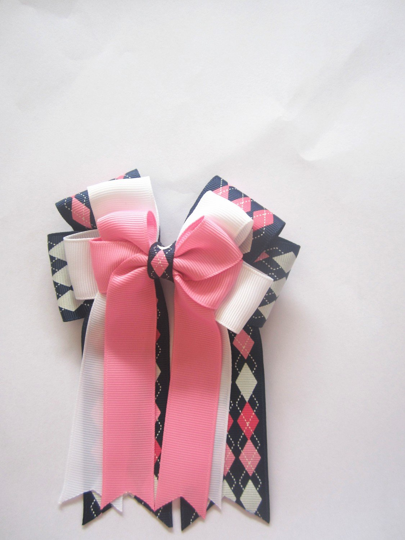 Plaid Pink & Blue