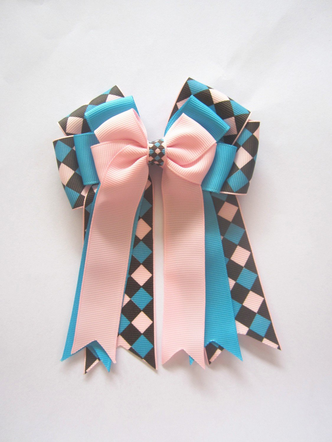 Pink & Blue Checkers