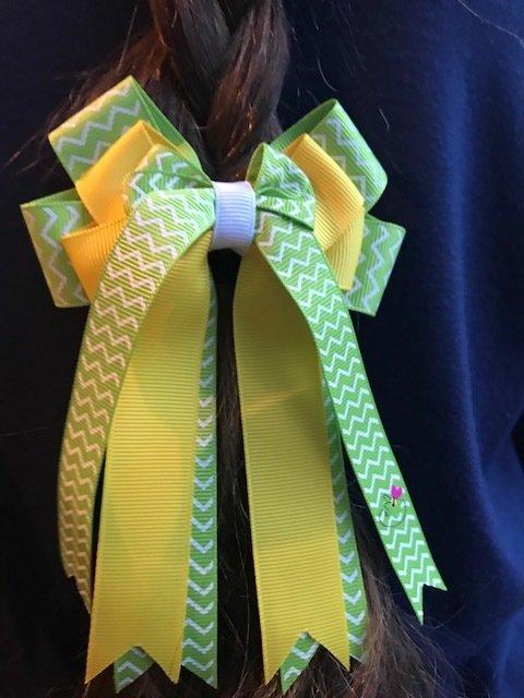 Green & Yellow ZigZags