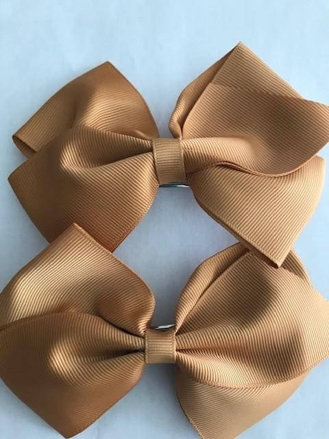 Medium: Camel Brown Single Bow