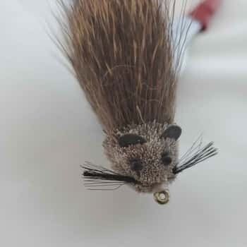 Natural DEER HAIR MOUSE size #1/0* (3 ea.)