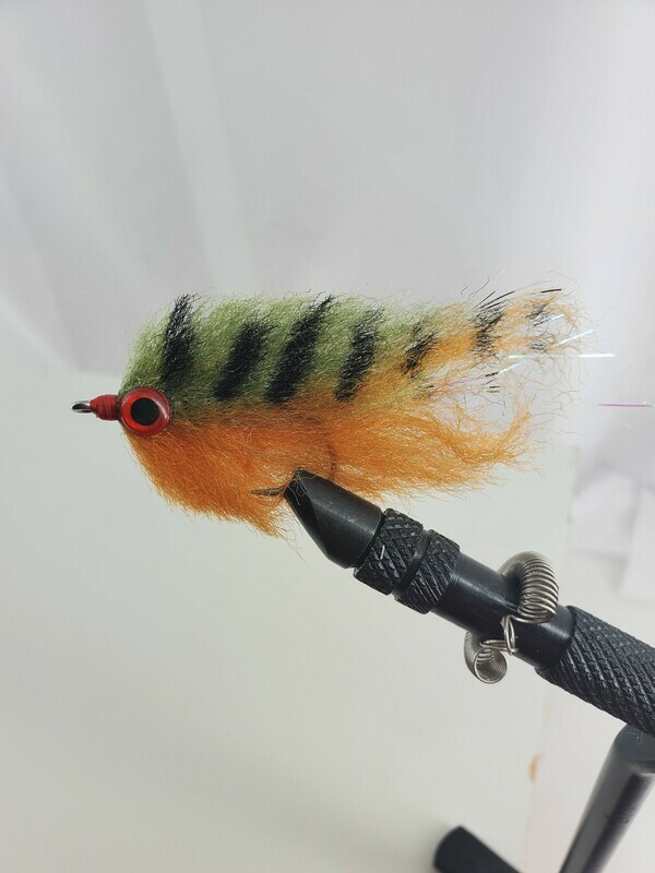 Saltwater Fly Mullet Style Baitfish Flies 2 Per Pack Size 3/0 Tarpon,Snook,Striped bass and Others.