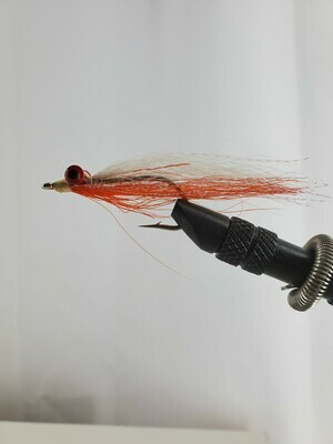 Orange and White Clousers Size 3/0