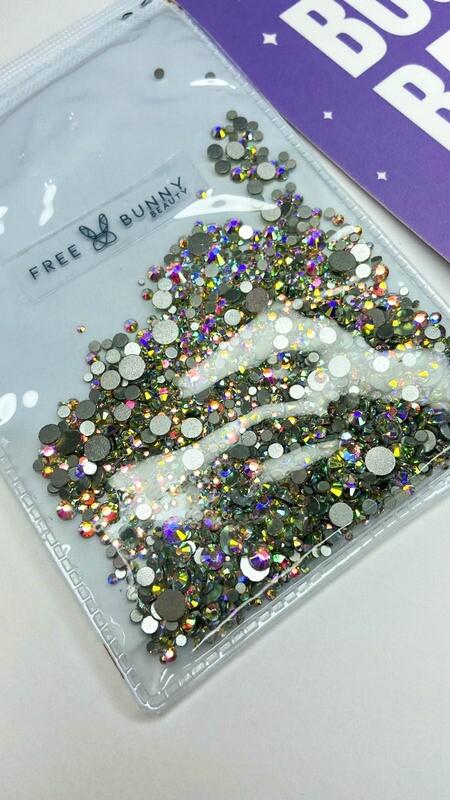 Shiny Crystals - Tono Multicolor