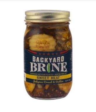 Backyard Brine Sweet & Spicy Pickles