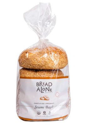 Bread Alone Bagels Sesame (4)