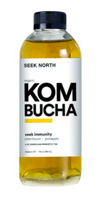 Seek North Kombucha Pineapple Elderflower