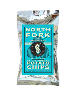 North Fork Potato Chips Salt & Vinegar 6oz