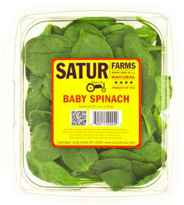 Satur Spinach 5oz