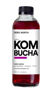 Seek North Kombucha Blueberry Pomegranate
