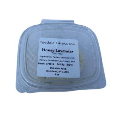 Honey Lavender Cow Cheese 3oz
