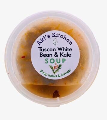 Aki's Tuscan White Bean & Kale Soup (12 oz)
