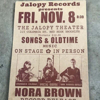 Record Release Show Poster!
