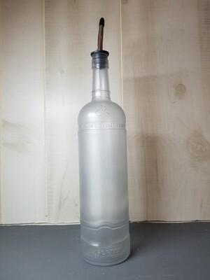 Smoke Grey Recycled Vodka Bottle Dispenser