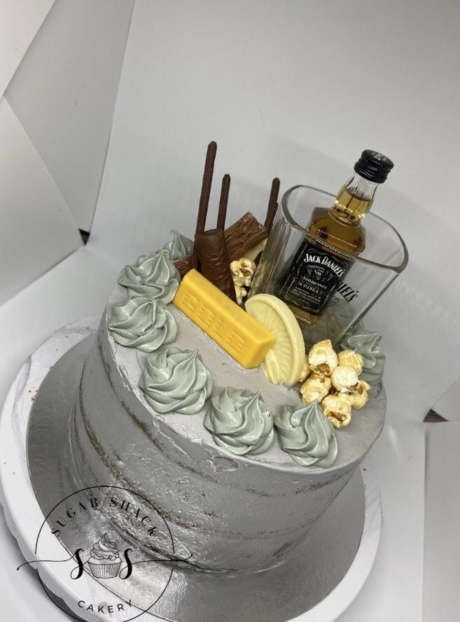 Decorated Celebration Cake