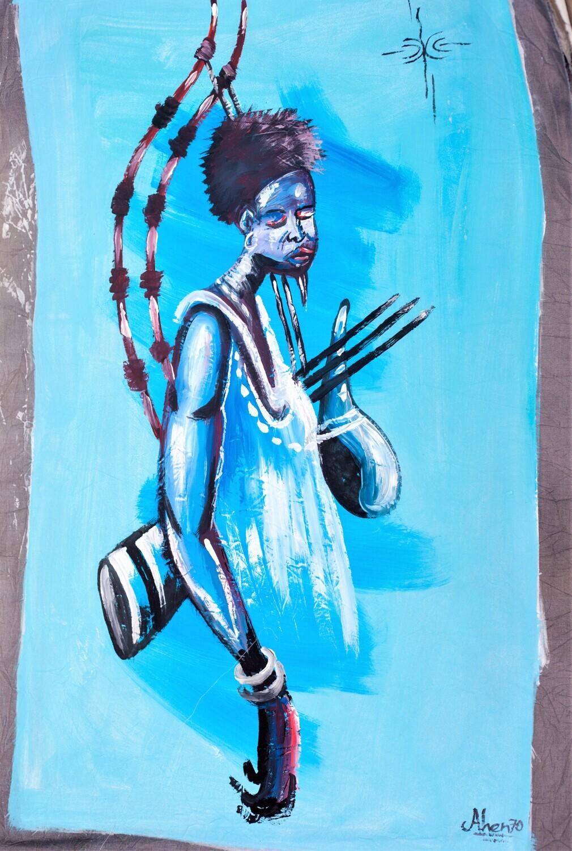 Blue Warrior