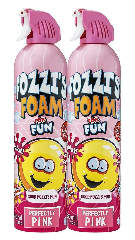 FOZZI's Foam 2 x Large Pink Soap, Good Fozzi Fun, 2 x 18.06 oz (Pack of 2) and Free Shipping